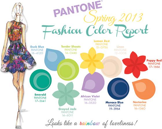 PantoneSpring2013FashionColorReport